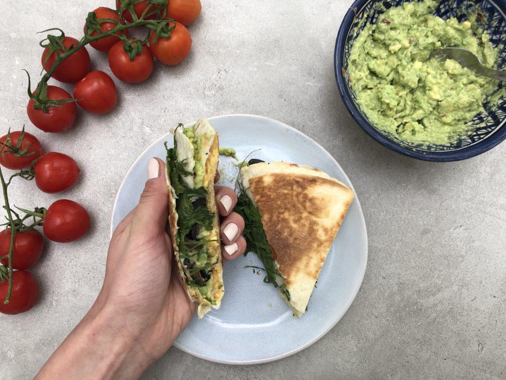 Przepis na tortillę śniadaniową