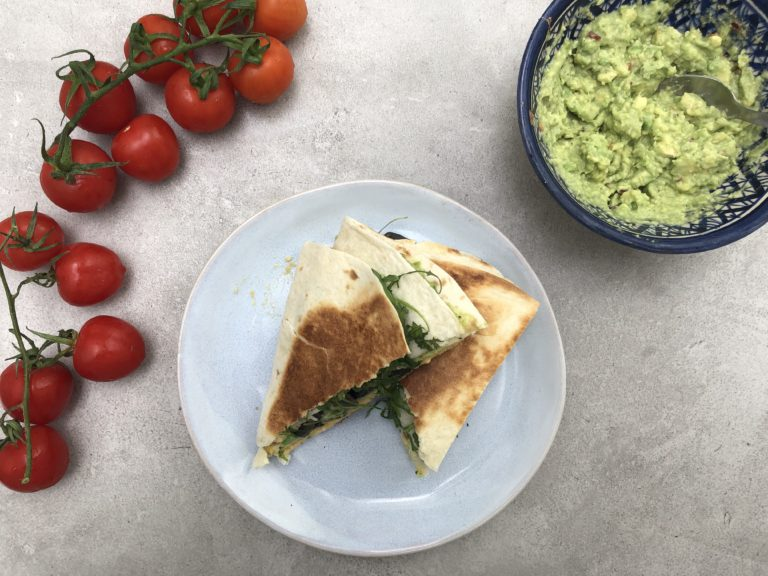 Instagramowa tortilla śniadaniowa